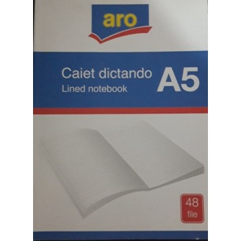 CAIET  A5 48FILE DICTANDO