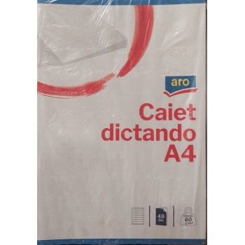 CAIET  A4 48FILE DICTANDO